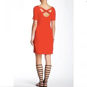 Loveappella- Red Crisscross Back Dress
